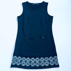 Athleta Sleeveless Women's Black Casual Dress